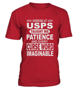 Working at USPS taught me patience | USPS Shirt