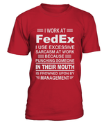 I work at FedEx | FedEx Shirt