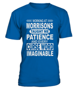 Working at Morrisons taught me patience | Morrisons Shirt