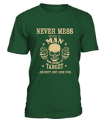 Never mess with a man who works at Target | Target Shirt