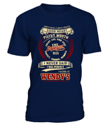 Wendys-I never said I was perfect-Wendy's man shirt