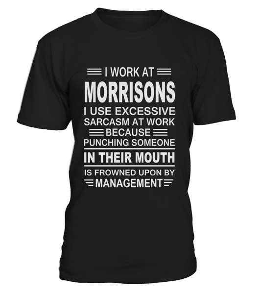 I work at Morrisons | Morrisons Shirt