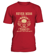 Never mess with a woman who works at Tesco | Tesco Shirt