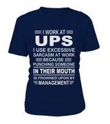 I work at UPS | UPS Shirt