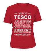 I work at Tesco | Tesco Shirt