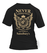 Never underestimate the power of a woman who works at Sainsbury's | Sainsbury's Shirt
