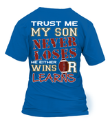 Football mom-My Son Never Loses Football