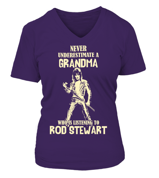 GRANDMA WHO LISTENS TO Rod Stewart