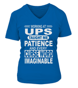 Working at UPS taught me patience | UPS Shirt