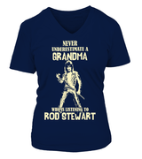 rod stewart-GRANDMA WHO LISTENS TO Rod Stewart