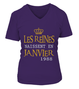Les reines naissent en Janvier 1988 | January birthday ideas