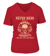 Never mess with a woman who works at Sainsbury's | Sainsbury's Shirt