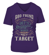 God found some of the strongest women | Target Shirt