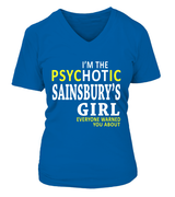 I'm the psychotic Sainsbury's girl | Sainsbury's Shirt