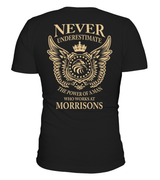 Never underestimate the power of a man who works at Morrisons | Morrisons Shirt