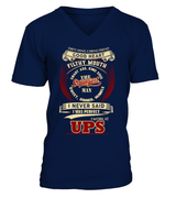 UPS-I never said I was perfect-UPS man shirt