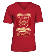Kroger-I never said I was perfect-Kroger man shirt