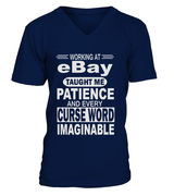 Working at eBay taught me patience | eBay Shirt