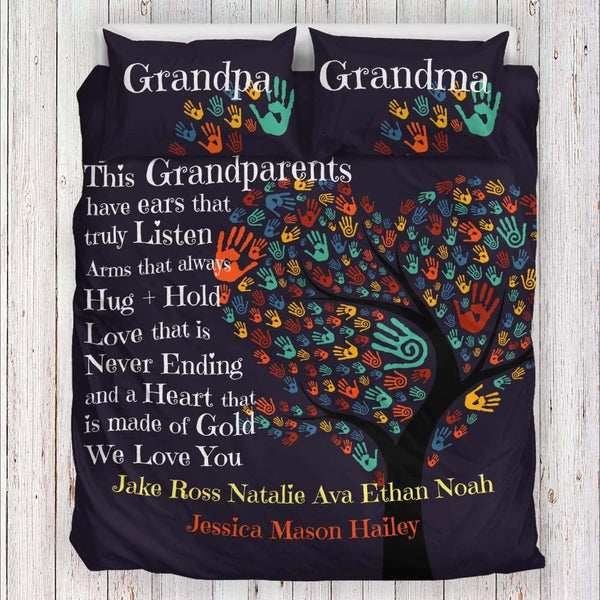 personalized gifts for grandparents | grandparents bedroom ideas | grandparents blanket | christmas gifts for grandparents