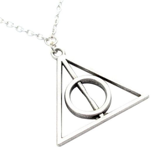 Harry Potter Deathly Hallows Necklace EhPVY