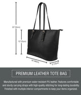 DHBF SM Leather Tote