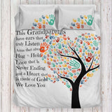 Personalized Gifts For Grandparents - Bedding Set