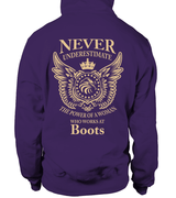 Never underestimate the power of a woman who works at Boots | Boots Shirt