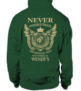 Never underestimate the power of a man who works at Wendy's | Wendy's Shirt