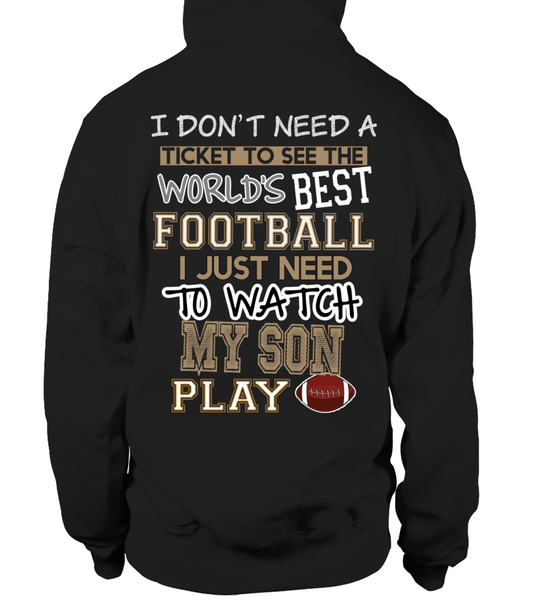 Football mom-I Watch My Son Play Football
