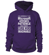 Working at Microsoft Taught Me Patience | Microsoft Shirt