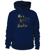Harry Potter Couple Shirts | He's A Keeper