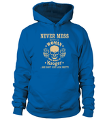 Never mess with a woman who works at Kroger | Kroger Shirt