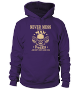Never mess with a man who works at FedEx | FedEx Shirt