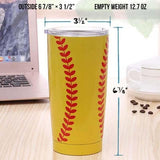 Softball Tumbler | Softball Water Bottle