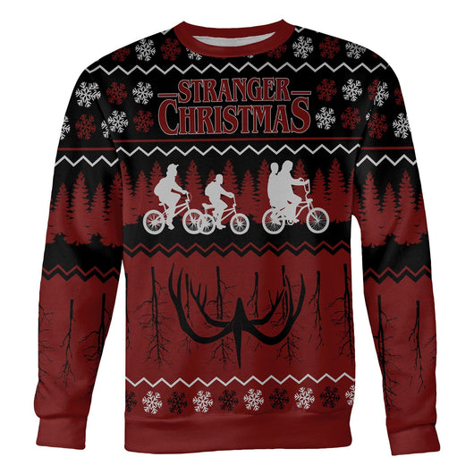 Stranger Things Christmas Sweater | stranger things christmas jumper | stranger things ugly sweater