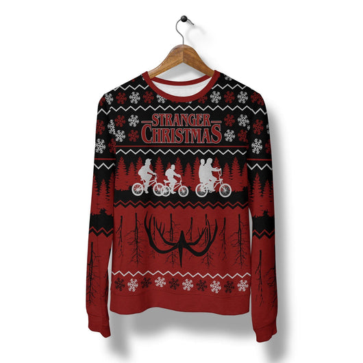 Stranger Things Ugly Christmas Sweater.Stranger Things Christmas Sweater
