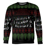 Stranger Things Christmas Sweater | stranger things christmas jumper | stranger things ugly sweater | stranger christmas