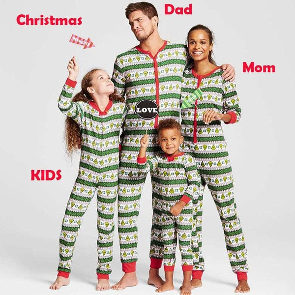 Family Christmas Pajamas | Grinch Family Pajamas