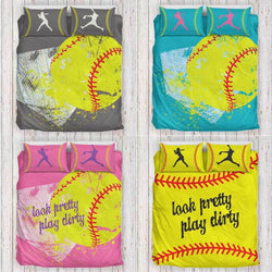 Herzoge™ Softball Bedding Set All Color Series
