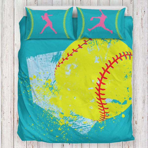 Softball Bedding Set