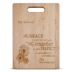 2 Corinthians 12:9 Cutting Board