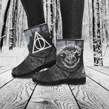 Gryffindor Slytherin Hufflepuff Ravenclaw Boots