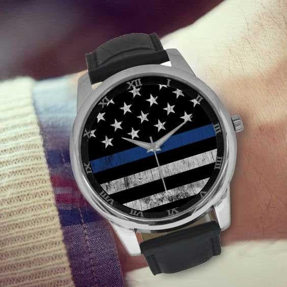 Thin Blue Line Watch