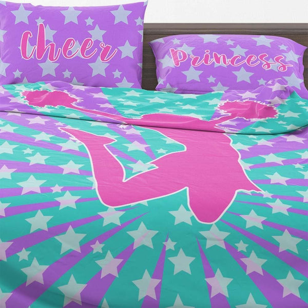 cheerleading bedding | cheerleading comforter set | cheer bedding