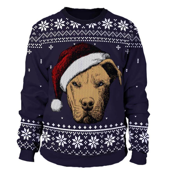 Pitbull Christmas Sweater | Pitbull Ugly Sweater | pitbull ugly christmas sweater | pitbull xmas sweater