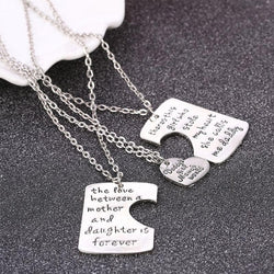 Mom-3pc/set Daddy, Mom & Daughter Necklace