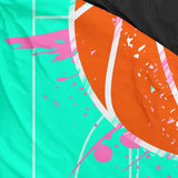 Girls Basketball Bedding
