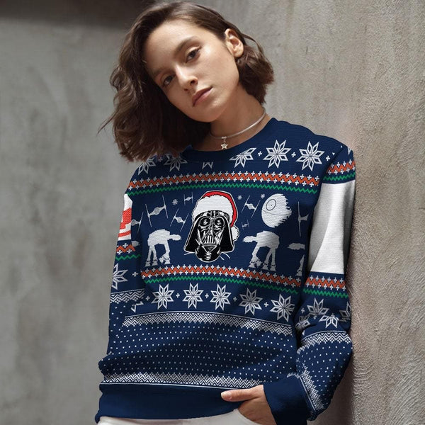 Star Wars Ugly Christmas Sweater | star wars christmas sweater | star wars ugly sweater | darth vader christmas sweater | star wars xmas sweater | star wars holiday sweater | darth vader ugly christmas sweater | darth vader ugly sweater | star wars christmas sweater womens