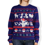 EEVEE CHRISTMAS SWEATER |  Eeveelution Ugly Christmas Sweater | eevee ugly christmas sweater | pokemon christmas sweater | pokemon sweater | pokemon ugly christmas sweater | pokemon ugly sweater | eevee christmas sweater | pokemon xmas sweater | eevee christmas jumper | eeveelution christmas sweater