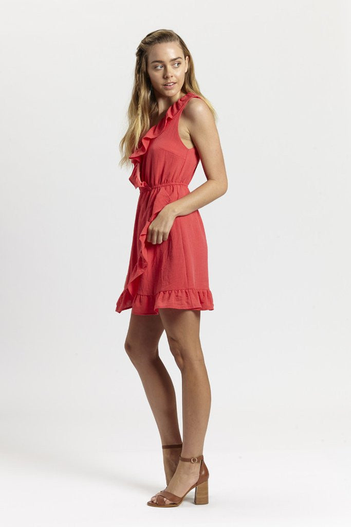 Vivian Ruffle Dress